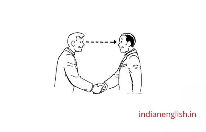 Eye contact - interview tips
