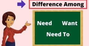 use of need in hindi