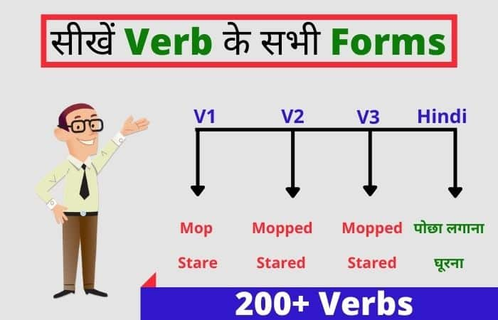 list of verbs with hindi meaning