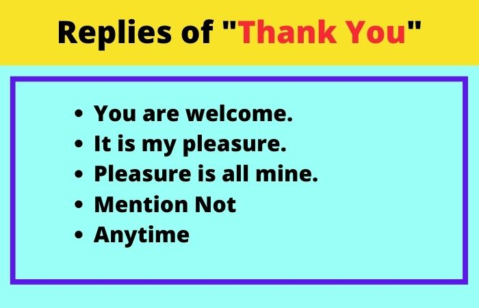Thank you reply in Hindi